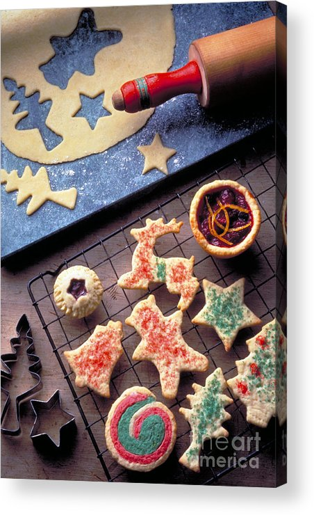 Christmas Acrylic Print featuring the photograph Christmas Cookies by Matthew Klein