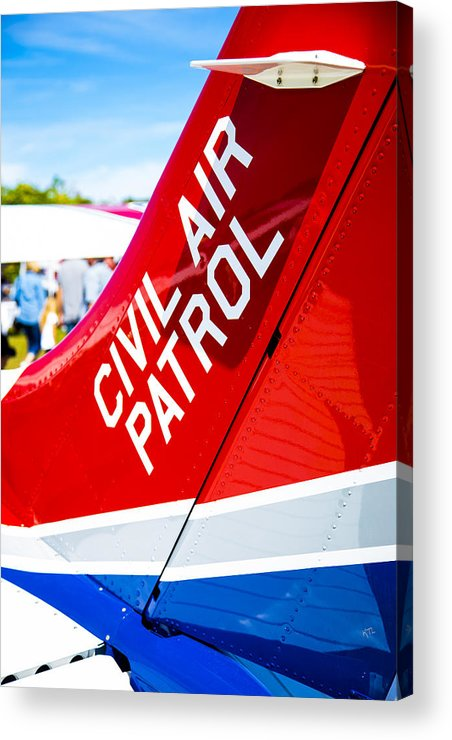 Civil Air Patrol Acrylic Print featuring the photograph Civil Air Patrol by Karol Livote