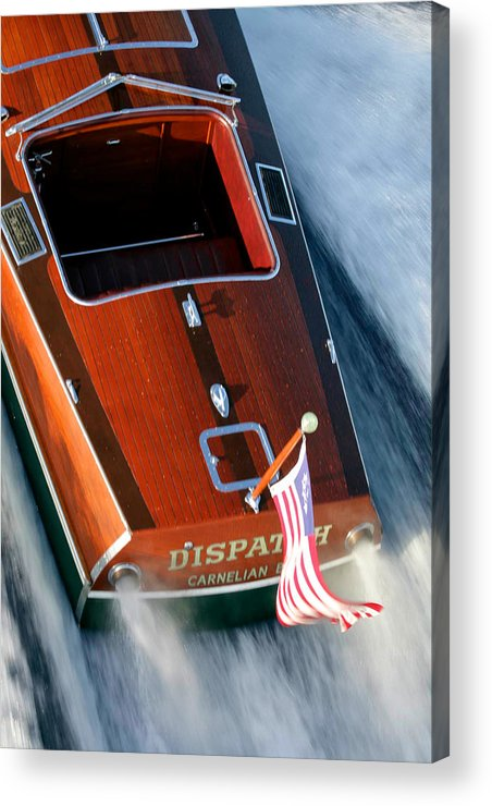 Riva Acrylic Print featuring the photograph Classic Garwood by Steven Lapkin