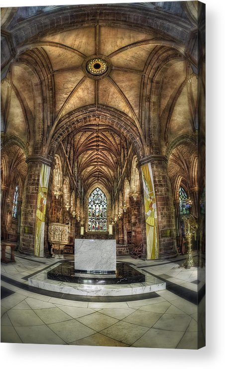 Cathedral Acrylic Print featuring the photograph Count Your Blessings by Evelina Kremsdorf
