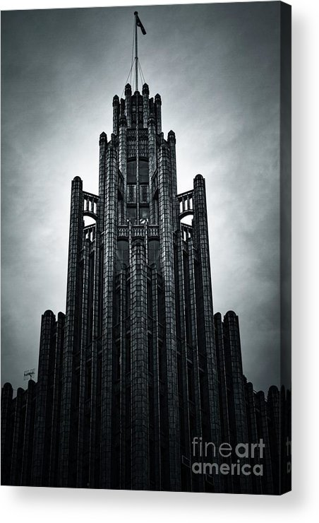 Manchester Acrylic Print featuring the photograph Dark Grandeur by Andrew Paranavitana