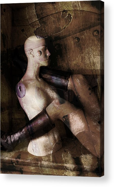 Manaquin Acrylic Print featuring the photograph Desire by Andrew Giovinazzo