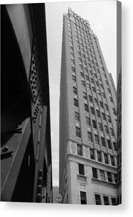 Downtown Acrylic Print featuring the photograph Downtown Architecture by Brooke Fuller