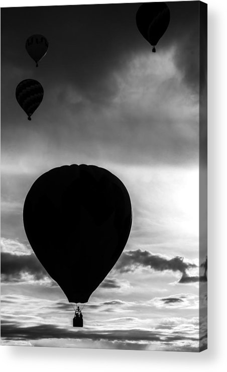 Hot Acrylic Print featuring the photograph Drifting Silhouette by Colleen Coccia