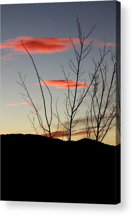 Vail Snow Ski Board Powder Nature Mountains Acrylic Print featuring the photograph Eagle Sunset by Nic Vasquez