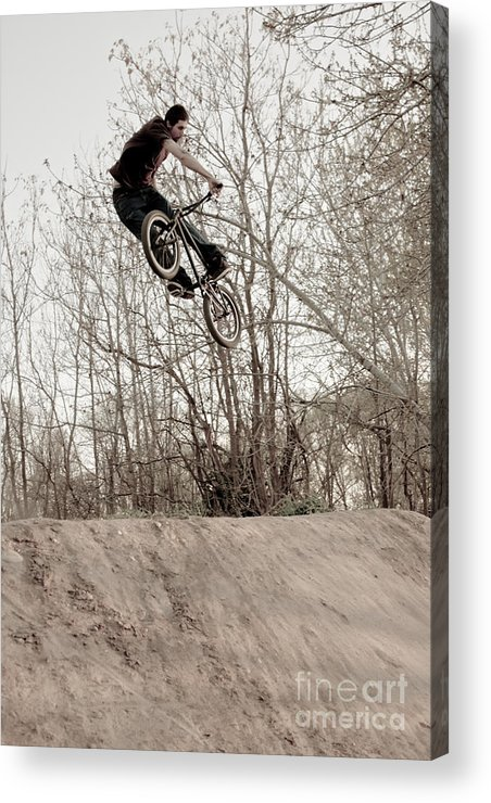Eric Acrylic Print featuring the photograph Erik Ream Turn Down by Joel Loftus