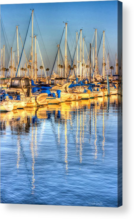 Amazing Acrylic Print featuring the photograph Feel The Warmth by Heidi Smith