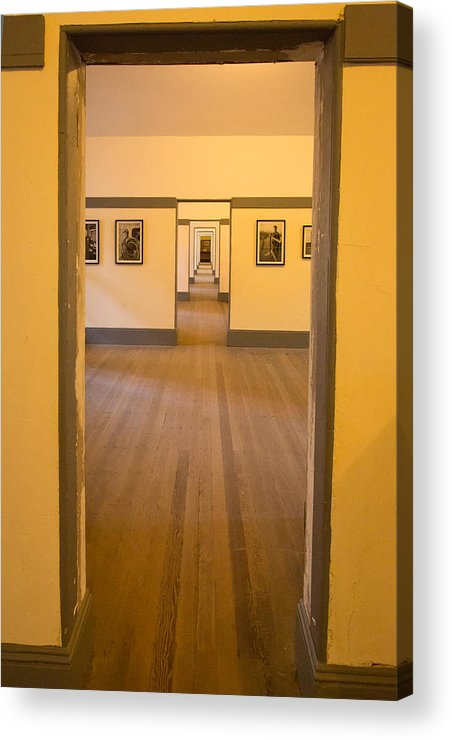 Fort Point Acrylic Print featuring the photograph Fort Point - Officer's Floor by Larry Fry