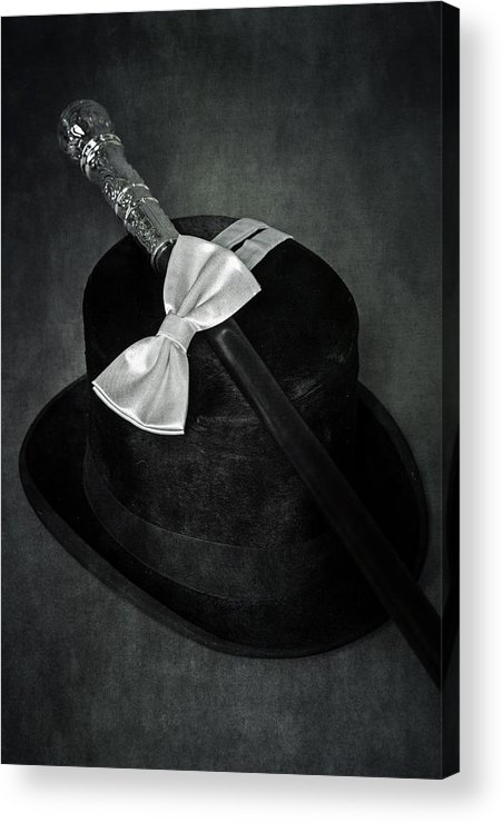 Top Hat Acrylic Print featuring the photograph Gentleman by Joana Kruse