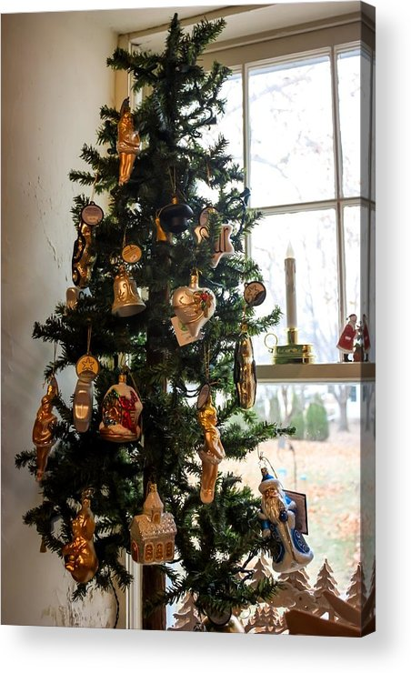 German Christmas Ornaments Acrylic Print
