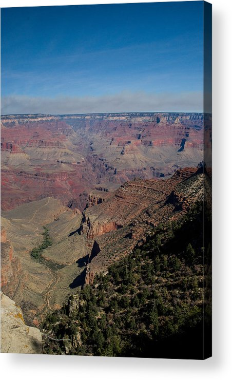 Grand Acrylic Print featuring the photograph Grande Canyon Afternoon by Douglas Barnett