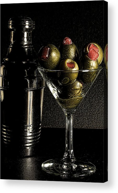 Hold The Booze Acrylic Print featuring the photograph Hold The Booze by David Patterson