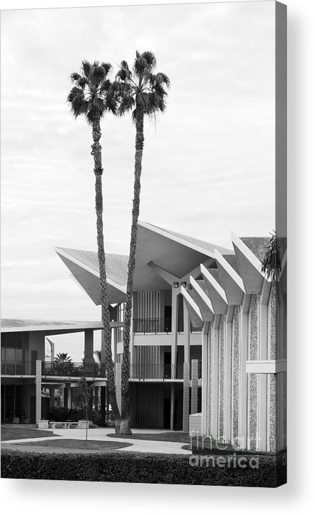 California Acrylic Print featuring the photograph Hope International University Center Core by University Icons