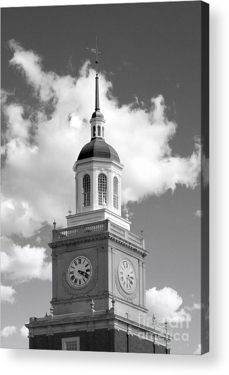 African-american Acrylic Print featuring the photograph Howard University Founders Library by University Icons