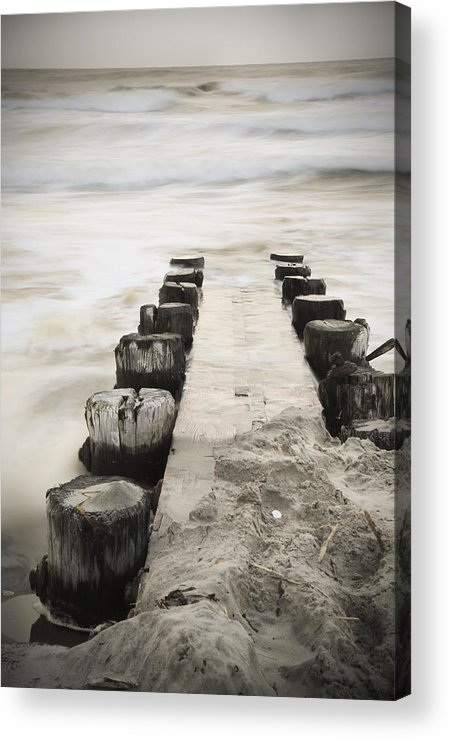 Jetty Acrylic Print featuring the photograph Jetty by Rich Walker