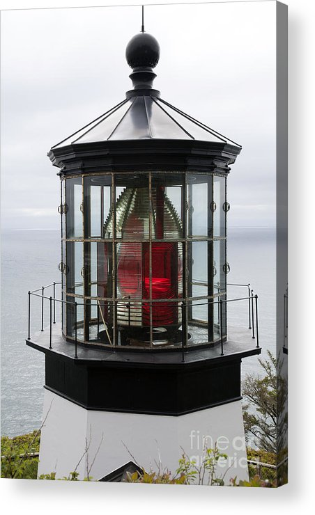 Beacon Acrylic Print featuring the photograph Kilauea Lighthouse by Peter French