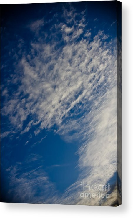 Clouds Acrylic Print featuring the photograph Living Sky 1 by Joel Loftus