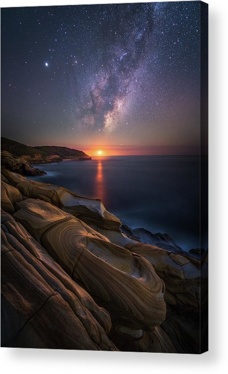 Landscape Acrylic Print featuring the photograph Lonely Planet by Tim Fan