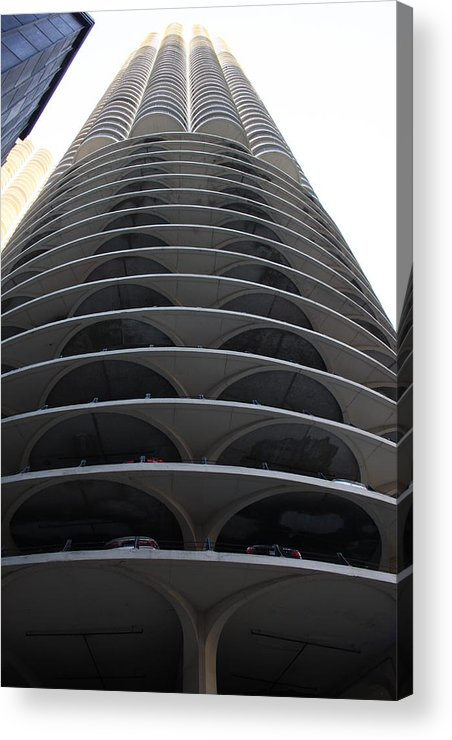 Building Acrylic Print featuring the photograph Marina City by Shari Bailey