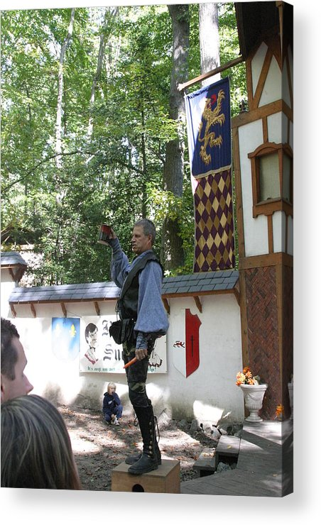 Maryland Acrylic Print featuring the photograph Maryland Renaissance Festival - Puke N Snot - 12122 by DC Photographer