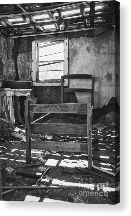 Missing Acrylic Print featuring the photograph Missing by Terry Rowe