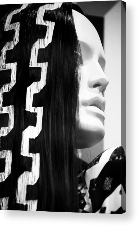 Jezcself Acrylic Print featuring the photograph My Outlook Is by Jez C Self