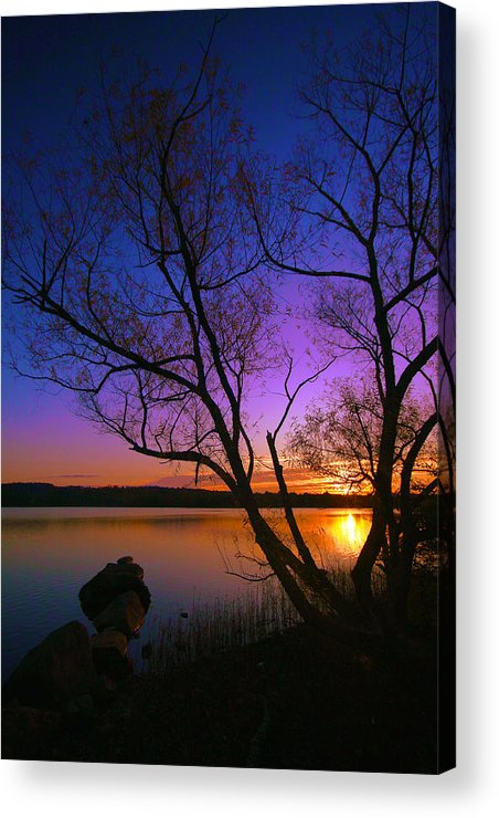 Sunrise Acrylic Print featuring the photograph Nothing Gold Can Stay by Mitch Cat