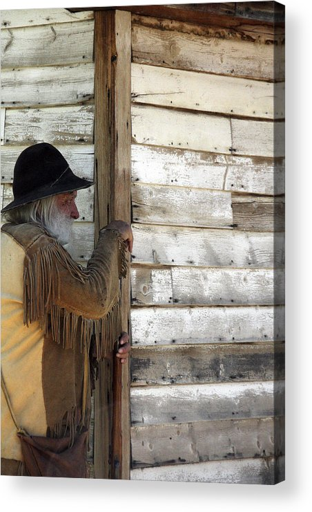 Cabin Acrylic Print featuring the photograph Observation by Jason Standiford