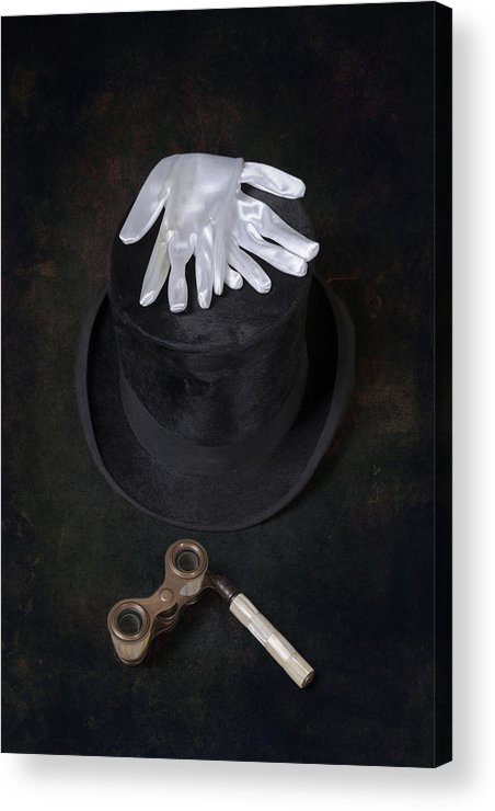 Top Hat Acrylic Print featuring the photograph Opera by Joana Kruse