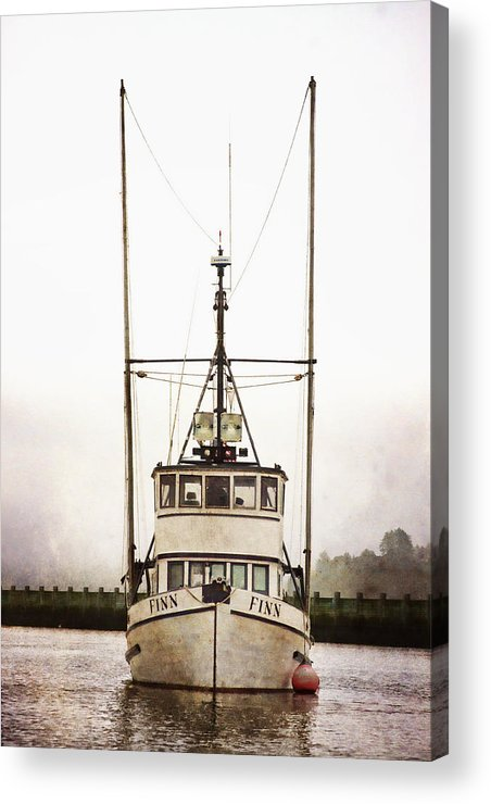 Pacific Acrylic Print featuring the photograph Pacific Northwest Morning by Carol Leigh