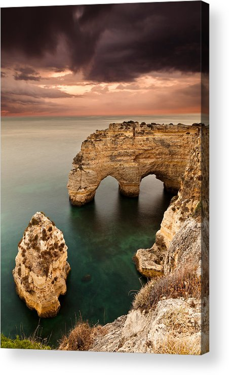 Rocks Acrylic Print featuring the photograph Paradise by Jorge Maia