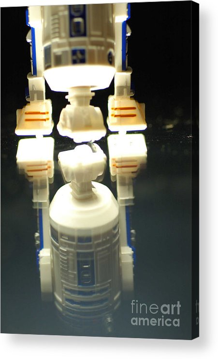 Star Wars Acrylic Print featuring the photograph R2-d2 Toy by Micah May