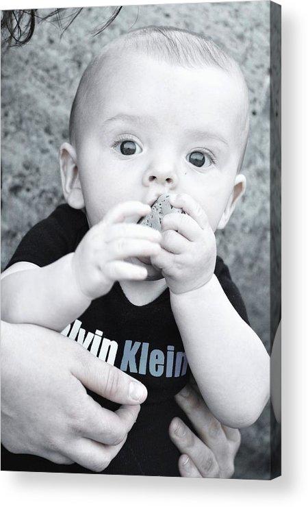 Family Photos Acrylic Print featuring the photograph Rock A Bye Baby by Lisa DiFruscio