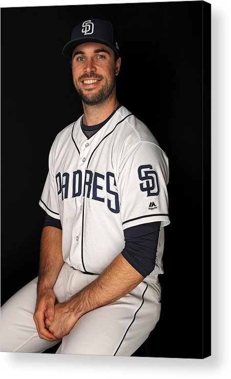 Media Day Acrylic Print featuring the photograph San Diego Padres Photo Day by Patrick Smith