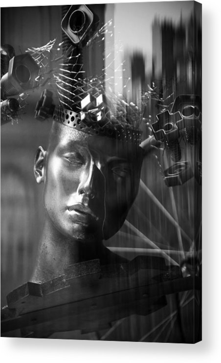 Jezcself Acrylic Print featuring the photograph Since She Left My Mind Has Never Been The Same by Jez C Self