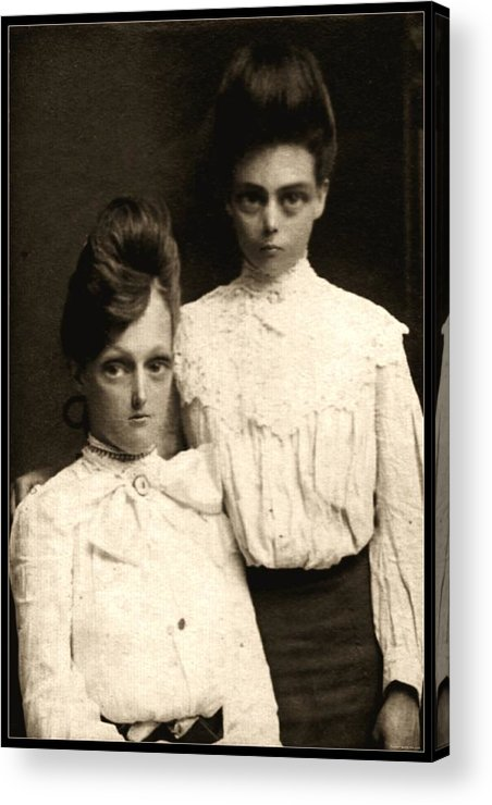 Photograph Acrylic Print featuring the photograph Sisters by Kris Milo