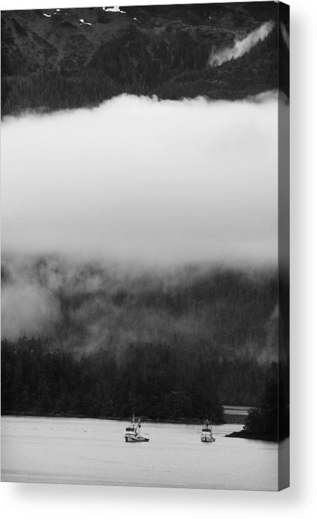 Sitka Acrylic Print featuring the photograph Sitka Fishing Boats by Carol Leigh