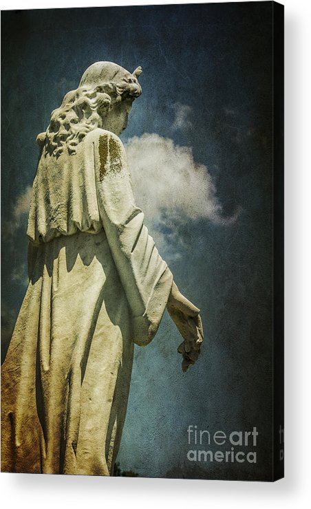 Sky Acrylic Print featuring the photograph Sky Angel by Terry Rowe