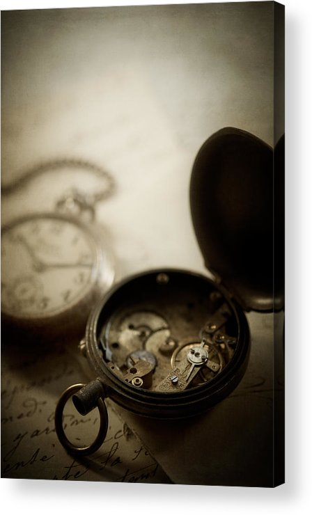 Watch Acrylic Print featuring the photograph Somewhere In Time by Amy Weiss