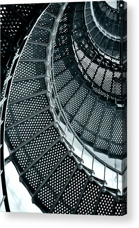 Saint Acrylic Print featuring the photograph St Augustine Lighthouse Staircase by Christine Till