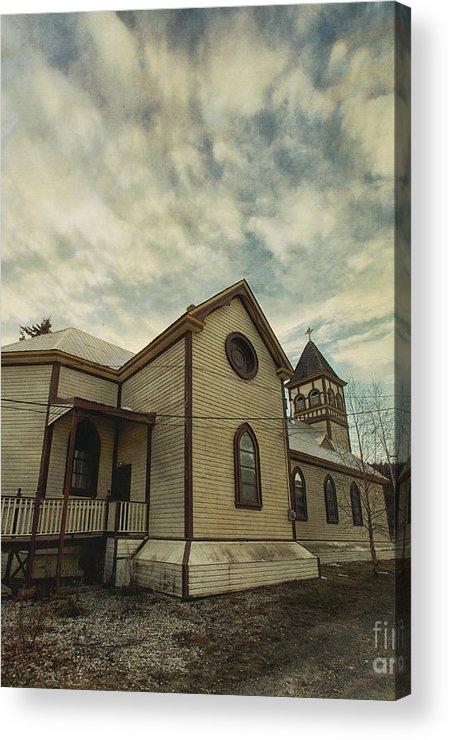 St. Pauls Anglican Church Acrylic Print featuring the photograph St. Pauls Anglican Church by Priska Wettstein