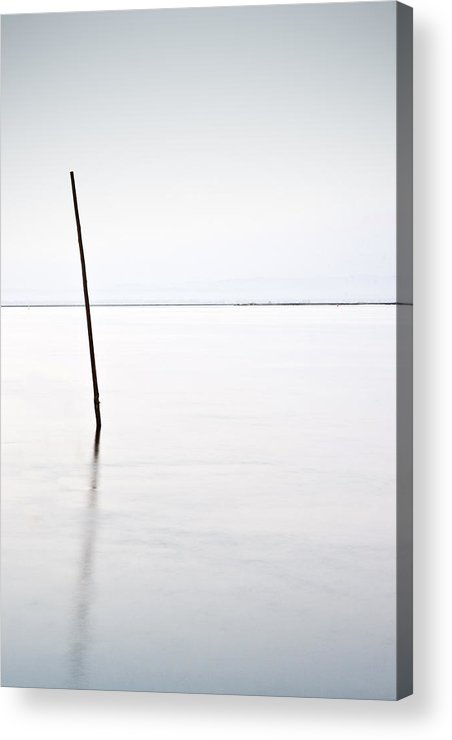 Waterscape Acrylic Print featuring the photograph Standing Alone by Jorge Maia