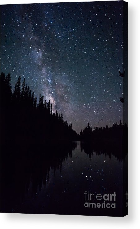 Lake Irene Acrylic Print featuring the photograph Stars On The Lake by Ray K