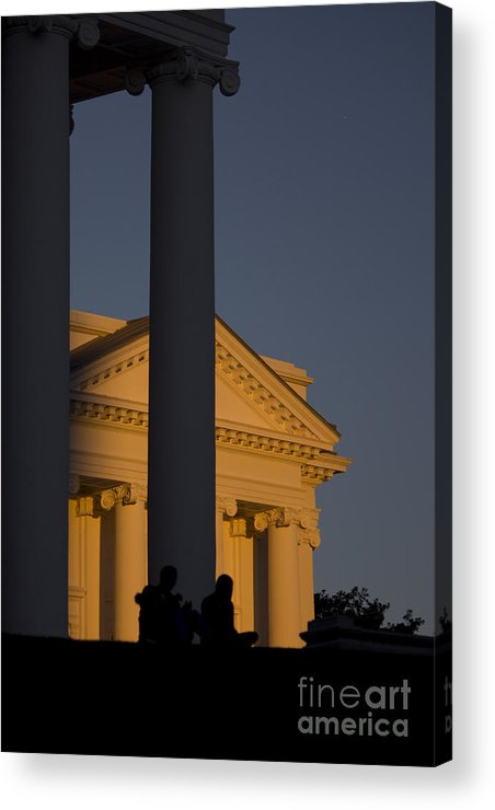 Richmond Acrylic Print featuring the photograph Sunset On The Capital Lawn by Debra K Roberts