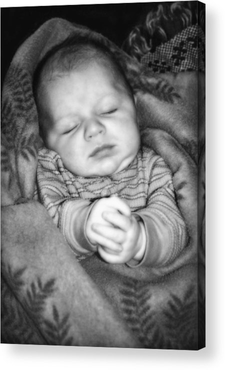 Baby Acrylic Print featuring the photograph Sweet Dreams by Susan Leggett