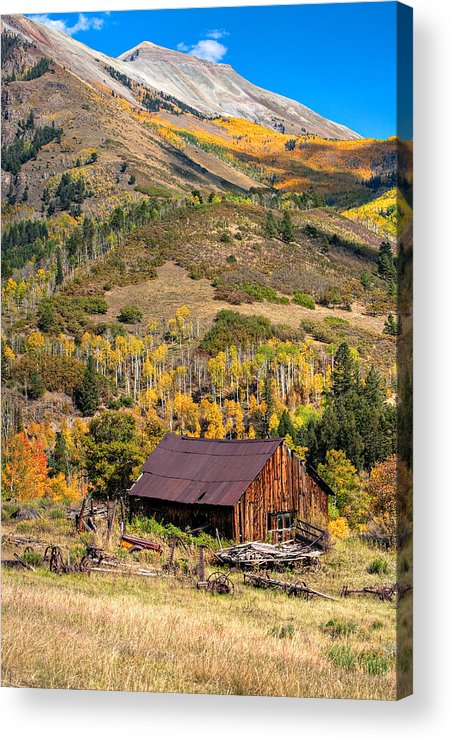 Colorado Acrylic Print featuring the photograph Technicolor by Pam Colander