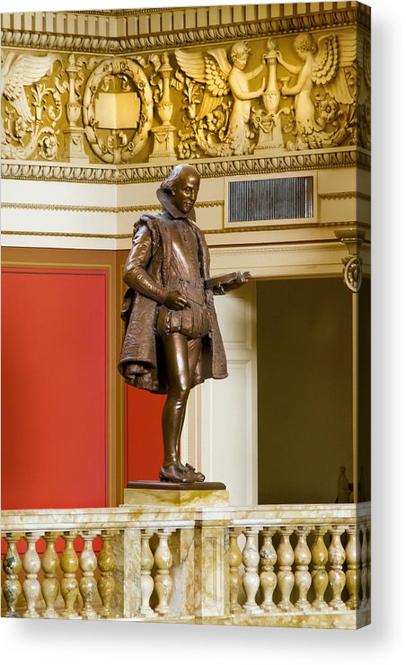 Arlington Cemetery Acrylic Print featuring the photograph The Bard by Greg Fortier
