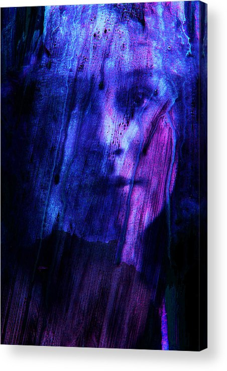 Surreal Acrylic Print featuring the photograph The Dark Veil by Jim Vance