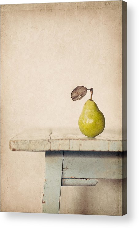 Pear Acrylic Print featuring the photograph The Exhibitionist by Amy Weiss