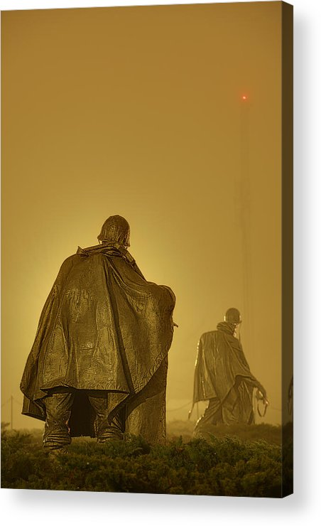 Metro Acrylic Print featuring the photograph The Fog Of War #2 by Metro DC Photography